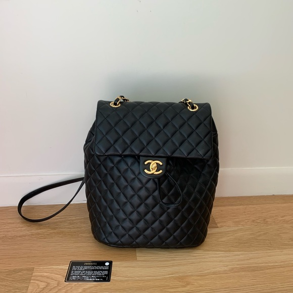4b3d8c8a57ad CHANEL Bags | Backpack Black Medium | Poshmark